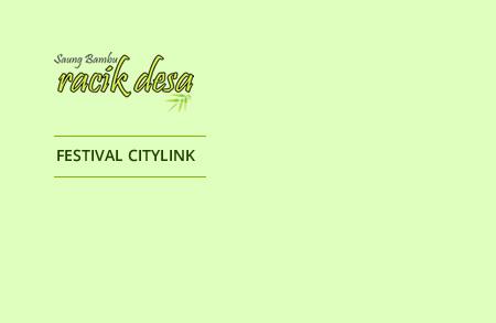 Racik Desa - Festival Citylink